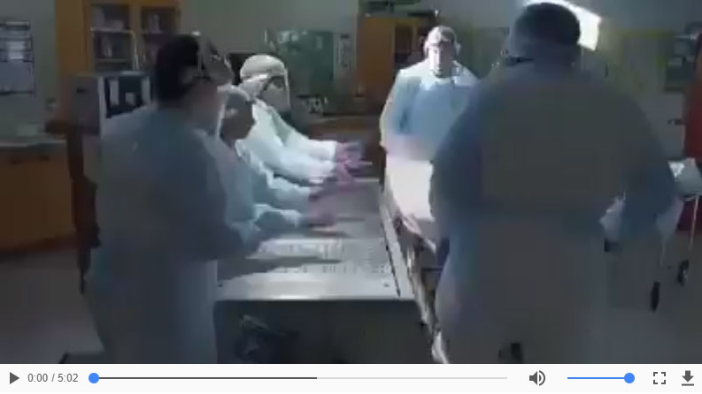 Vídeo sobre Tanatopraxia